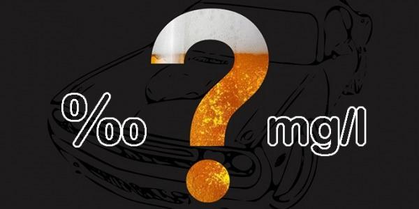 Jak przeliczać promile [‰] na miligramy na litr [mg/l] i na odwrót?